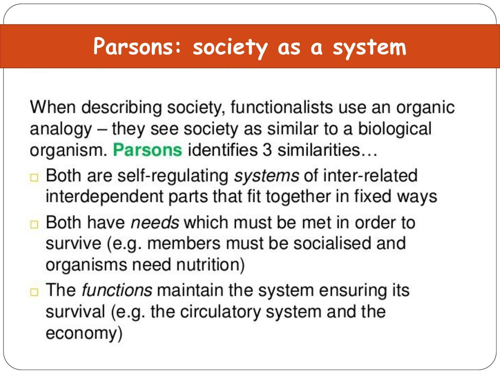Society as a system