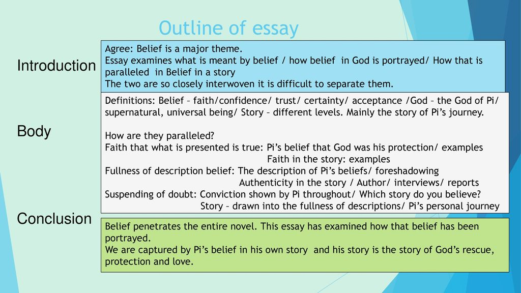 Introduction thesis about love