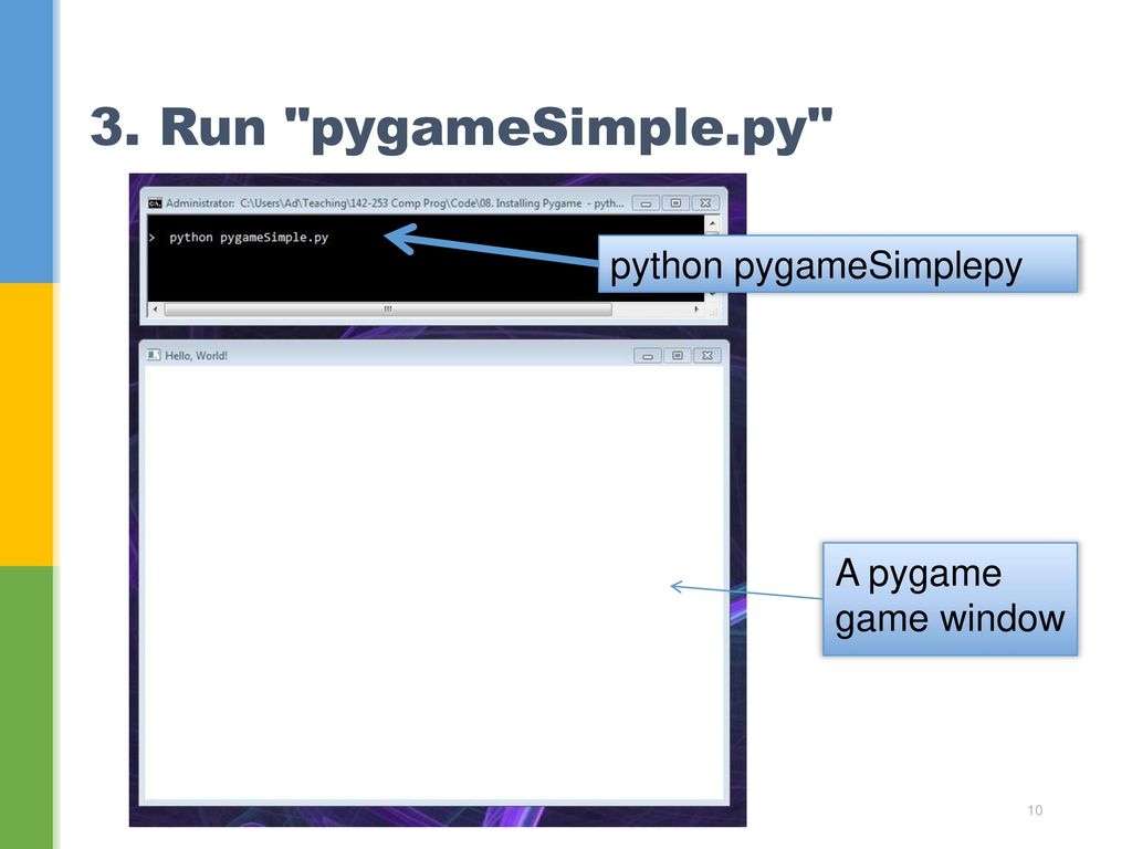 Pygame Install Pip