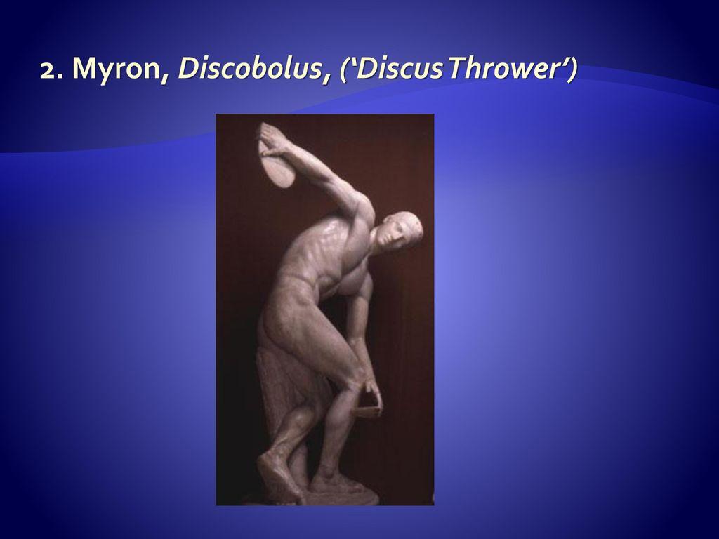 myron discobolus discus thrower