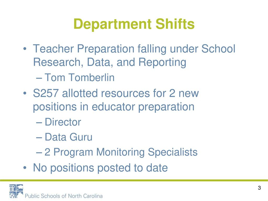 Andrew Sioberg NCDPI- Educator Preparation - ppt download