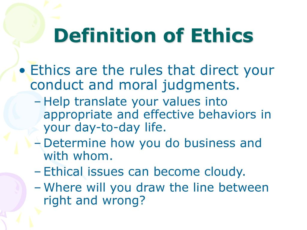 business ethics liz haman emkt ppt download