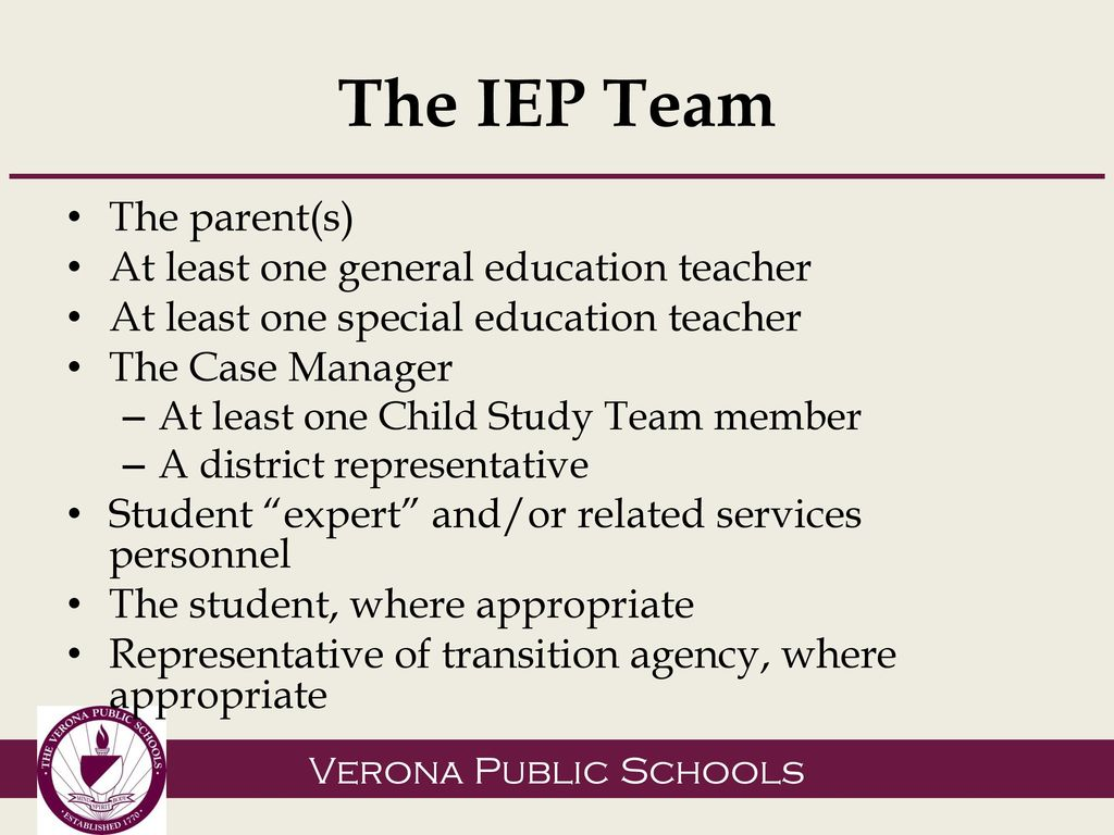 To My Childs Iep Case Manager >> You And Your Child S Iep Ppt Download