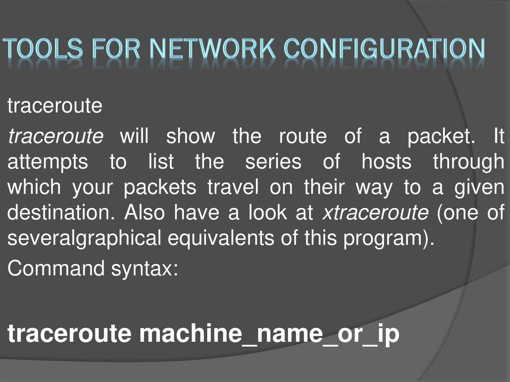 Network Commands 2 Linux Ubuntu A S  - ppt download