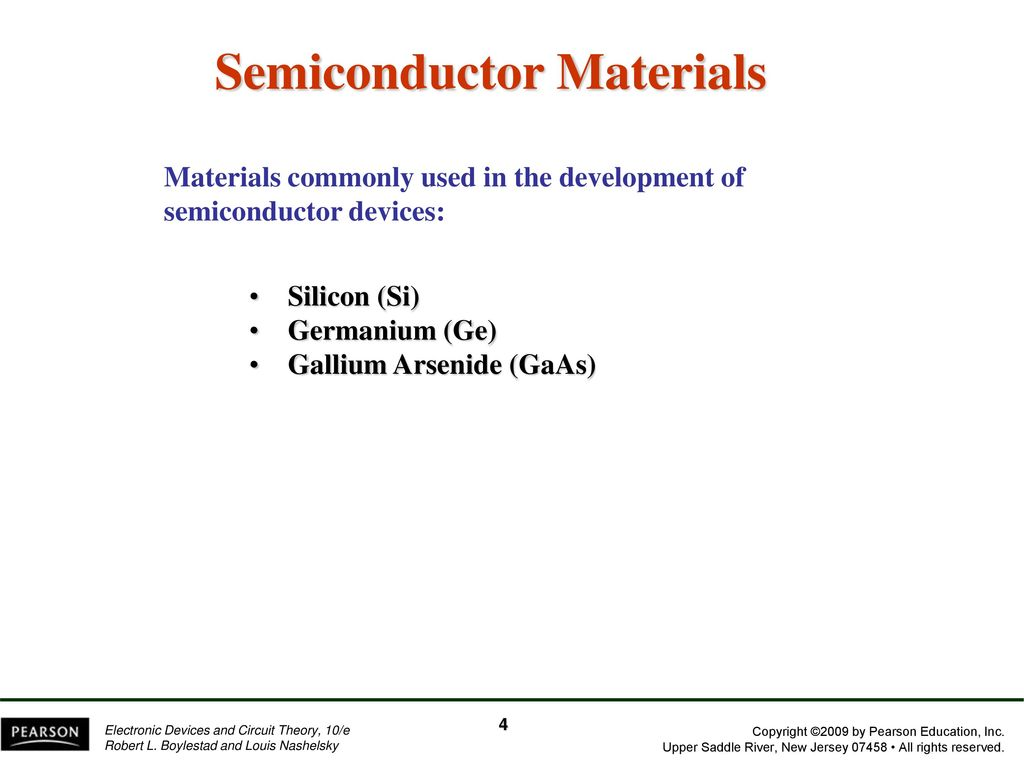 Chapter 1 Semiconductor Diodes Ppt Download Gallium Arsenide Gaas Doping Process 4 Materials