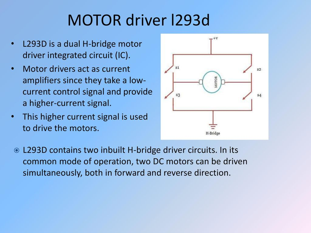 Auto Train Submitted By Ppt Download Motor Control Ics 17 Driver