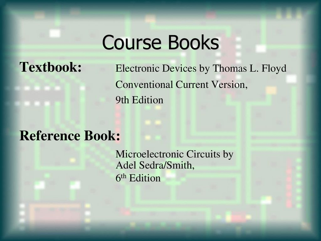 Electronic Circuits Autumn Ppt Download Circuit Book Course Books Textbook Devices By Thomas L Floyd