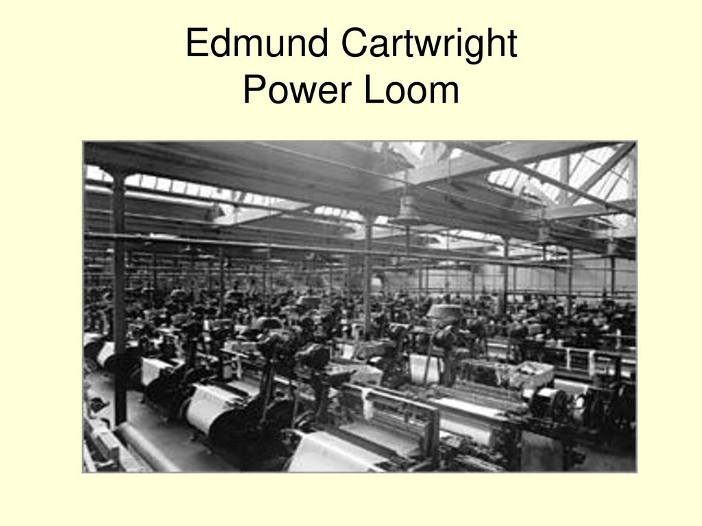 Industrial Revolution INVENTORS - ppt download