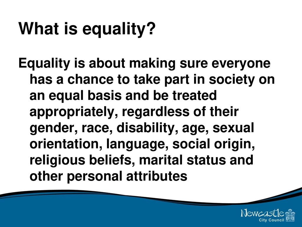 What is equality 25