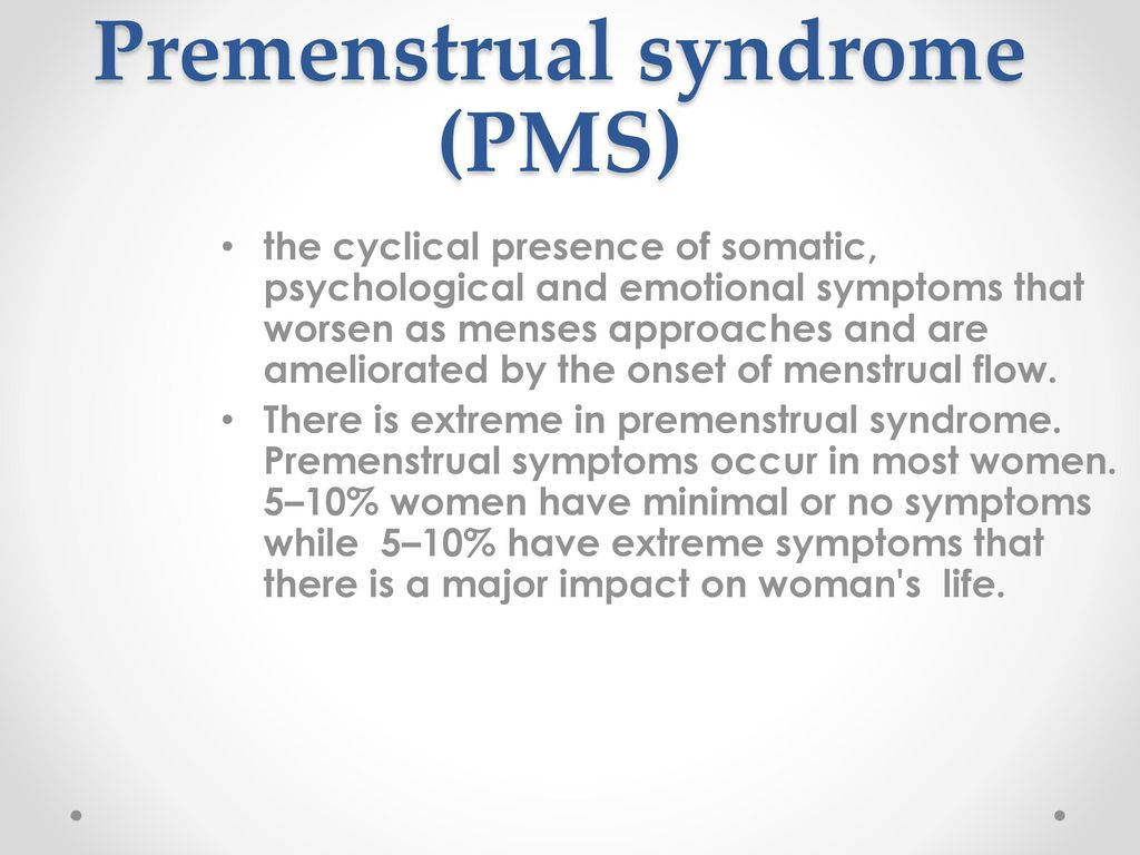 Watch What is adult-onset PMS video