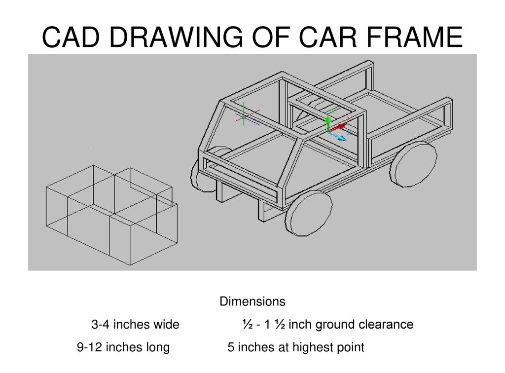 Cad Drawing Of Car Frame