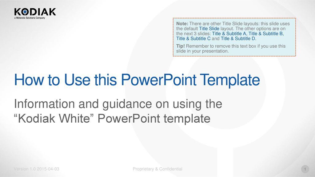 How To Use This Powerpoint Template Ppt Download