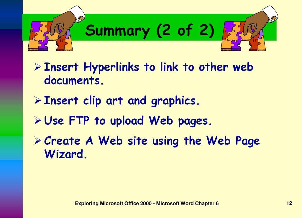 Exploring Microsoft Word ppt download