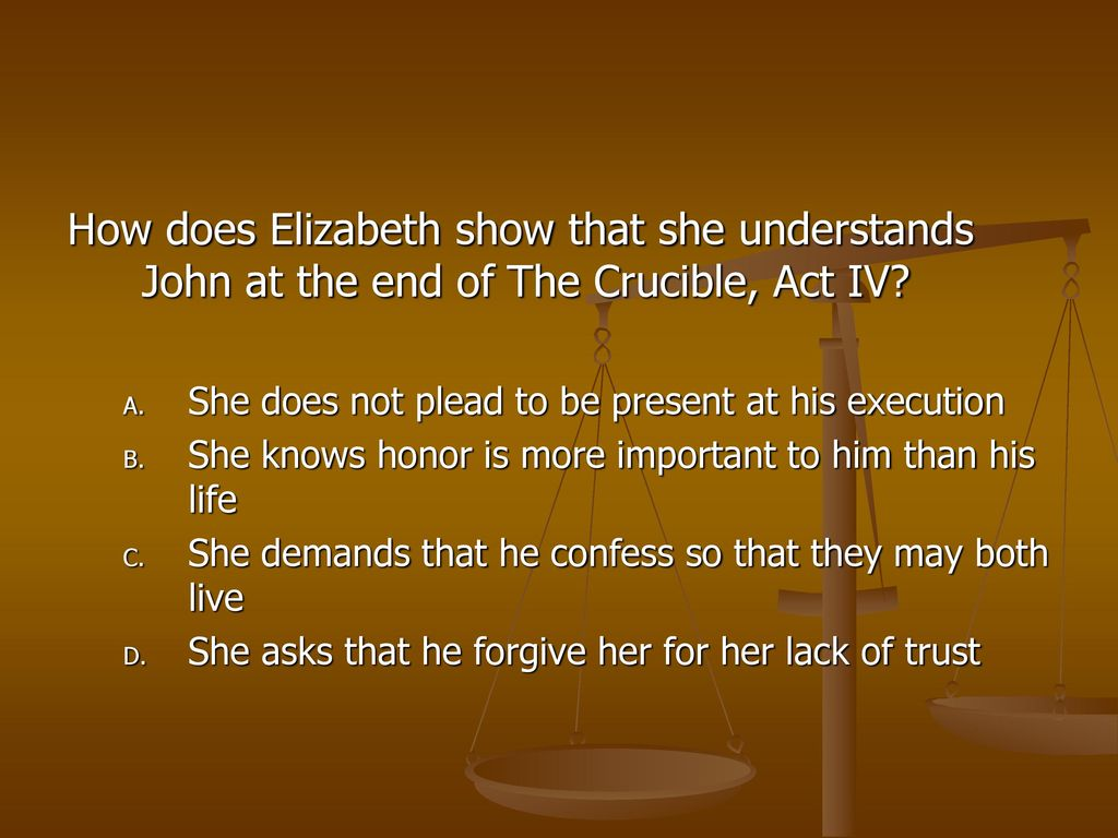 who confessed in the crucible