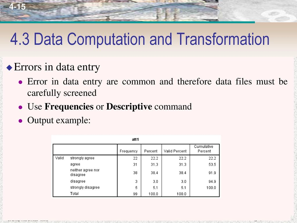 Introduction to Statistical Software Package - ppt download