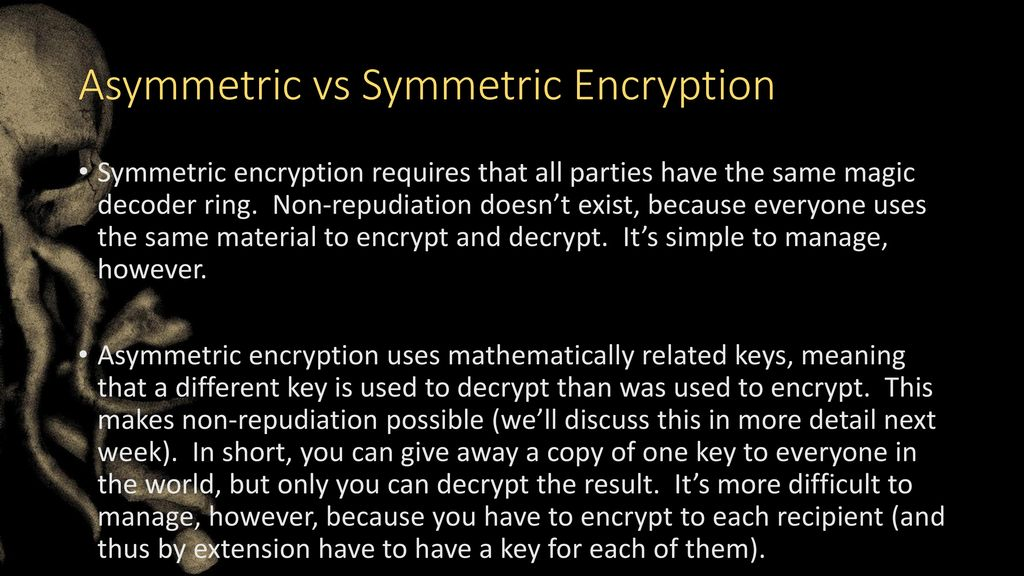 Introduction to Cryptography - ppt download