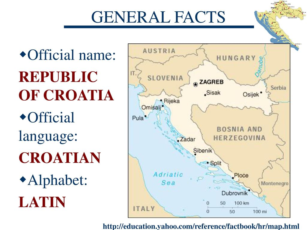 Croatia A Land Of Thousand Islands Ppt Download