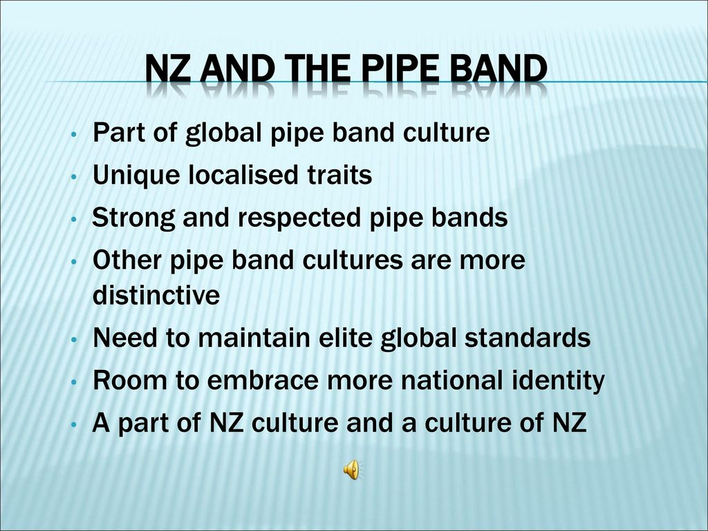 New Zealand and the Pipe Band - ppt download