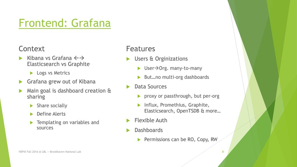 Monitoring with Clustered Graphite & Grafana - ppt download