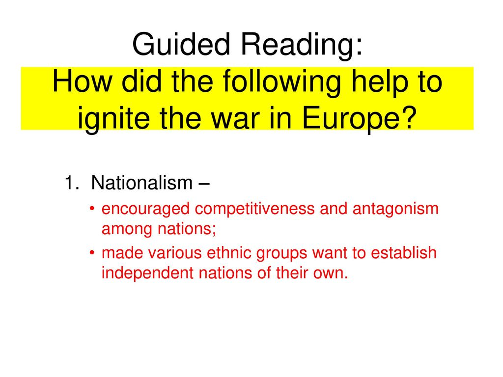lesson objectives goals swbat ppt download rh slideplayer com WWII War in Europe World War 2 in Europe and North Africa Map