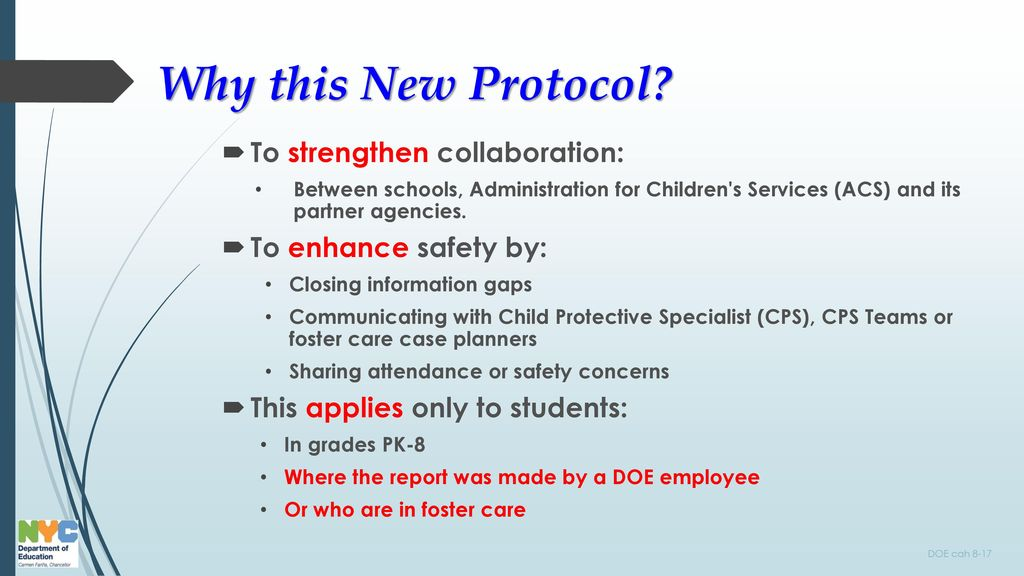 Doe Annual Child Abuse And Maltreatment Prevention Fall Training