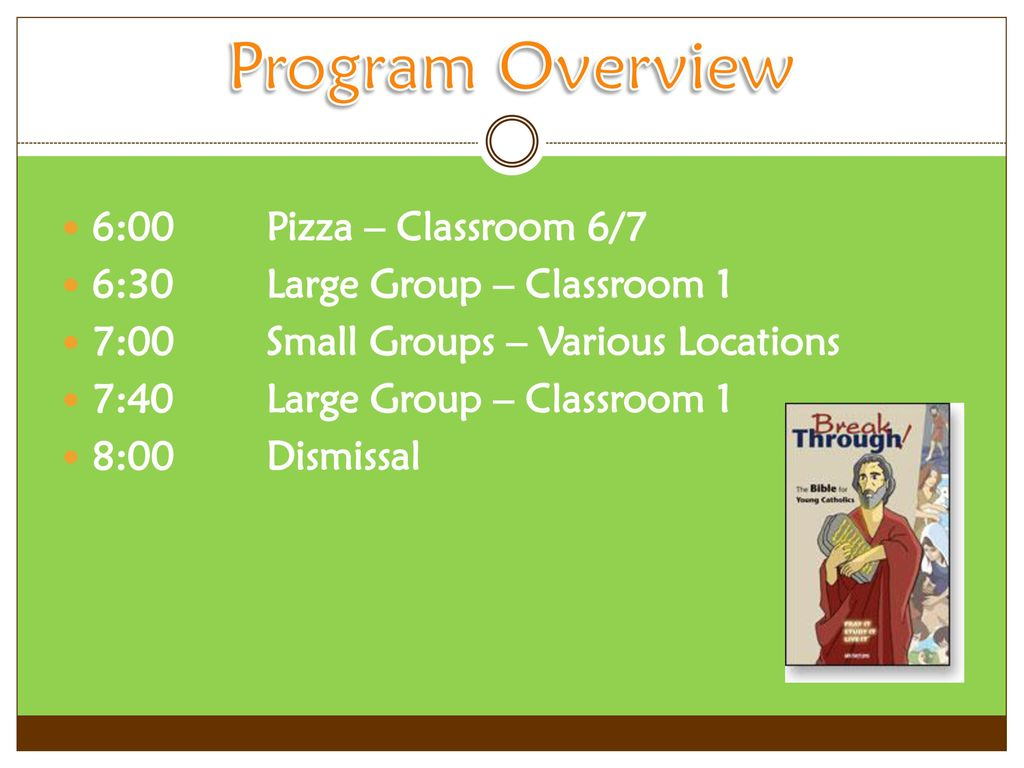 Middle School Bible Study - ppt download