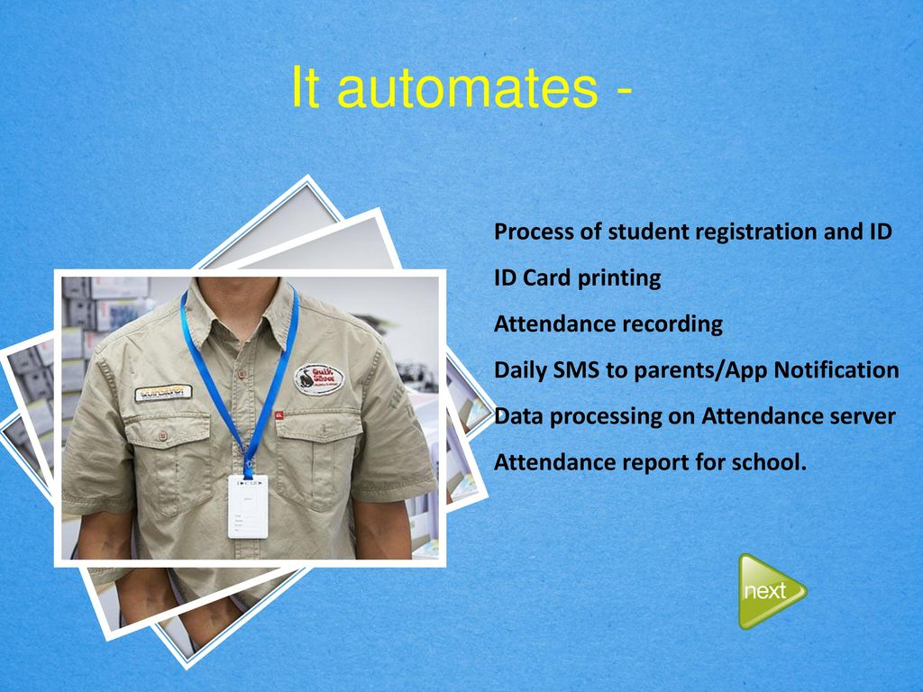 AUTOMATED STUDENT ATTENDANCE SYSTEM - ppt download