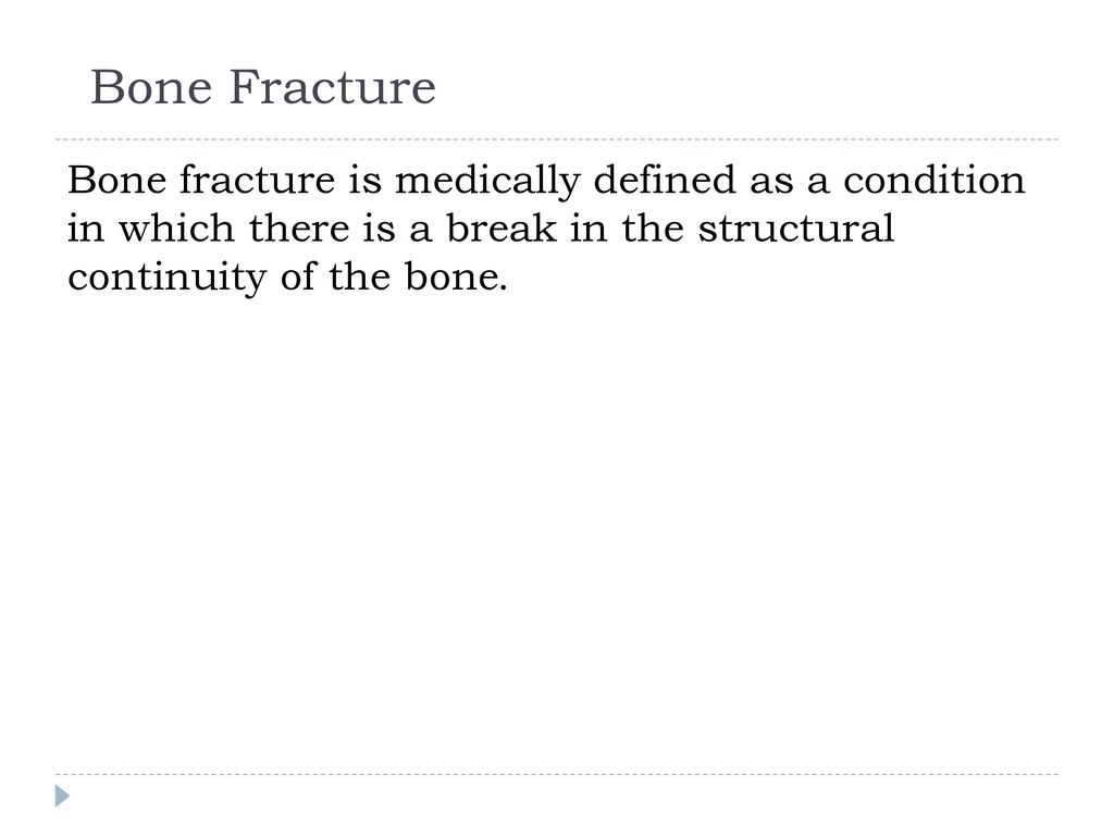 Exelent Types Of Bone Fractures Ensign - Anatomy and Physiology ...