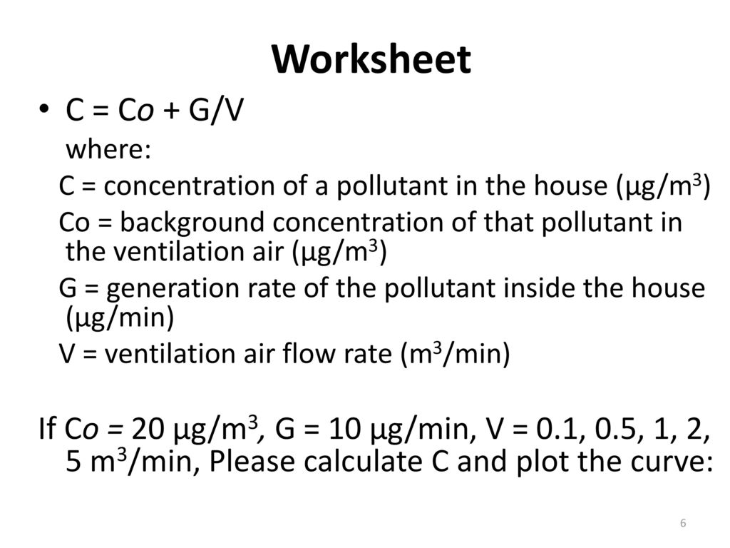Indoor Air Quality Secondary ppt download