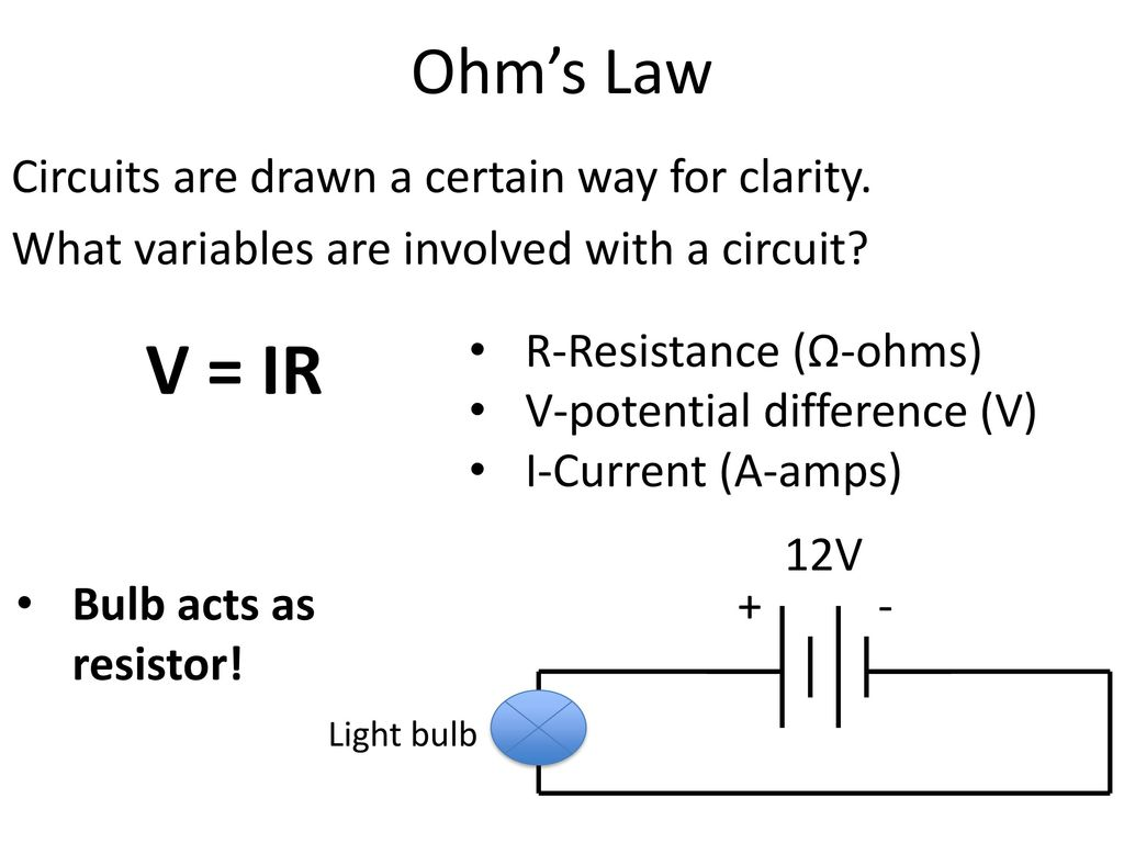 Aim How Is A Series Circuit Different From Parallel Current Ohms Law Circuits Are Drawn Certain Way For Clarity What Variables Involved With
