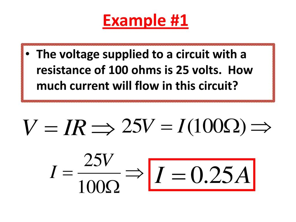 Aim How Is A Series Circuit Different From Parallel Voltage In Example 1 The Supplied To With Resistance Of 100 Ohms