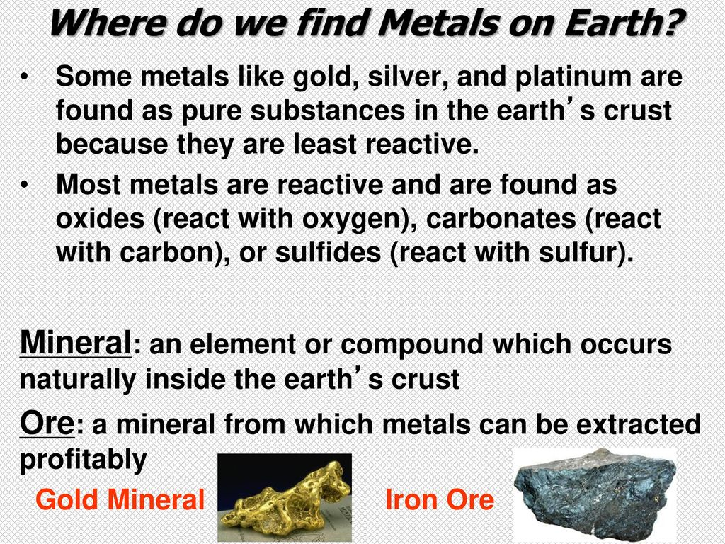 Metals, Nonmetals and Metalloids - ppt download