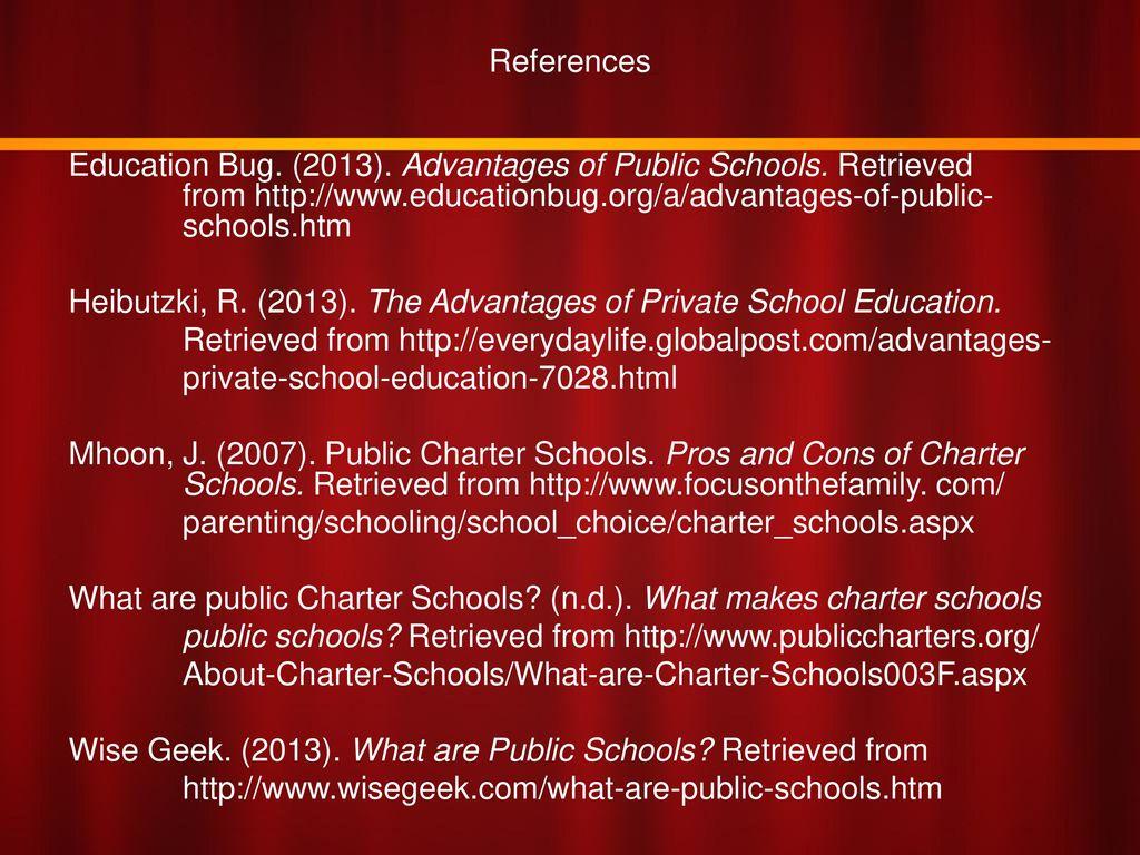 advantages of private school