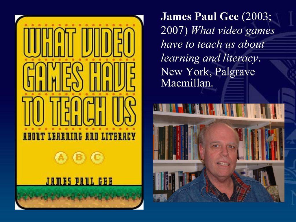 james paul gee what is literacy