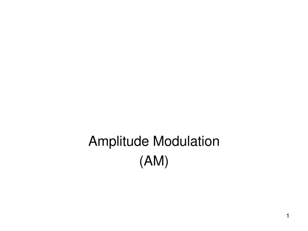 Amplitude Modulation Am Ppt Download Transistors Circuit Components Electrical