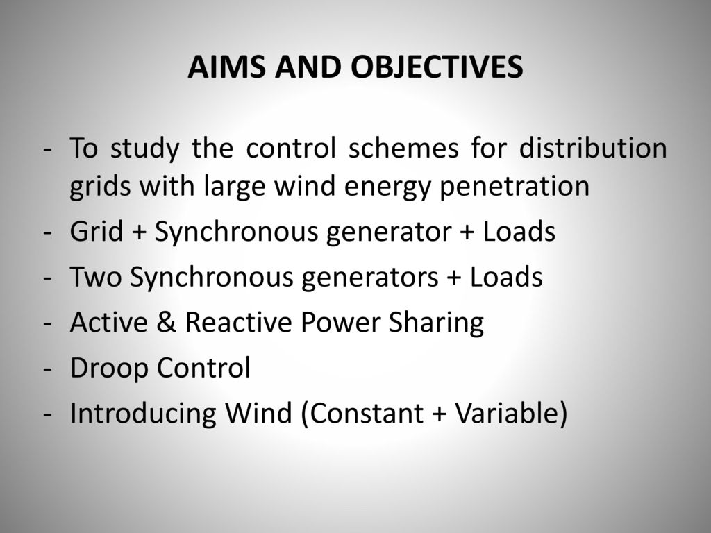 Control Schemes for Distribution Grids with Mass Distributed