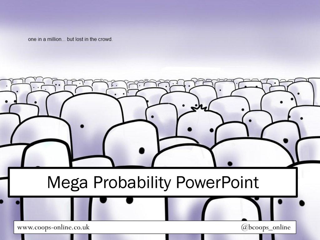 Mega Probability PowerPoint - ppt download