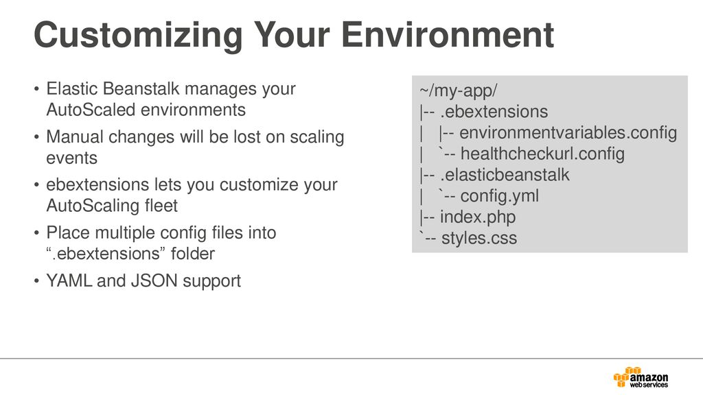 Deploy, Manage, and Scale Your Apps with OpsWorks, Elastic Beanstalk