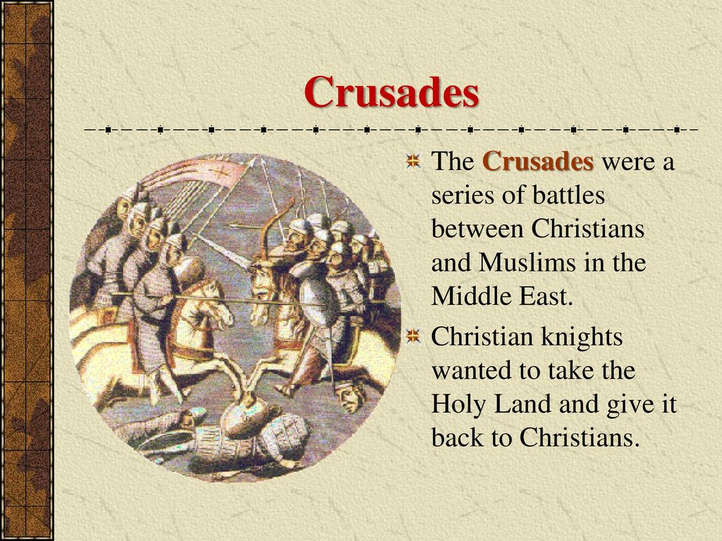 thesis statements on the crusades 2 crusades thesis statement crusades - wikipedia   the crusades were a series of religious wars sanctioned by the latin church in.