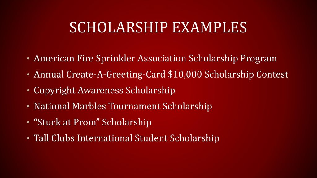 Wylie high school financial aid night ppt download 8 scholarship examples american fire sprinkler association scholarship program annual create a greeting card m4hsunfo