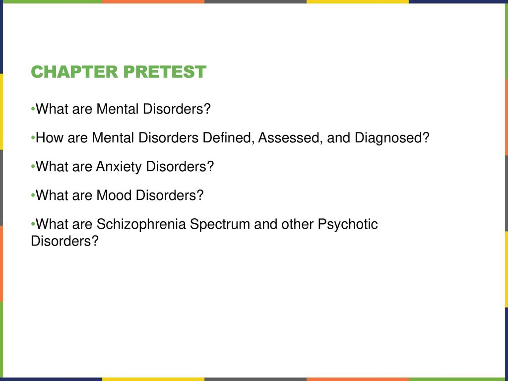 chapter 15 psychological disorders - ppt download