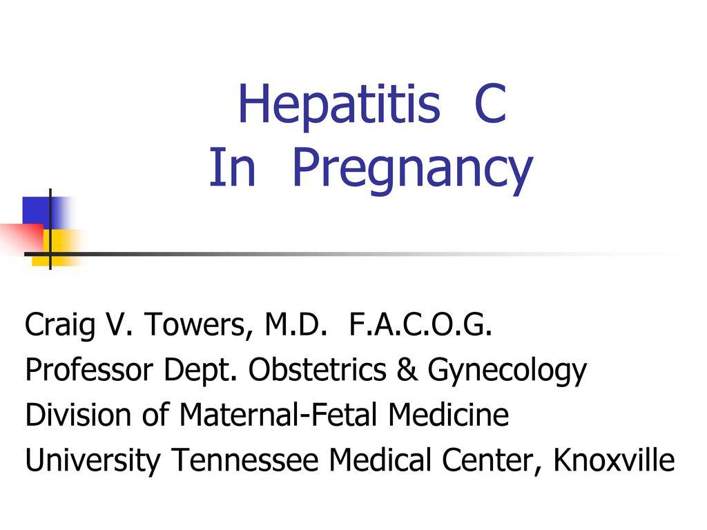 Is pregnancy possible with hepatitis C