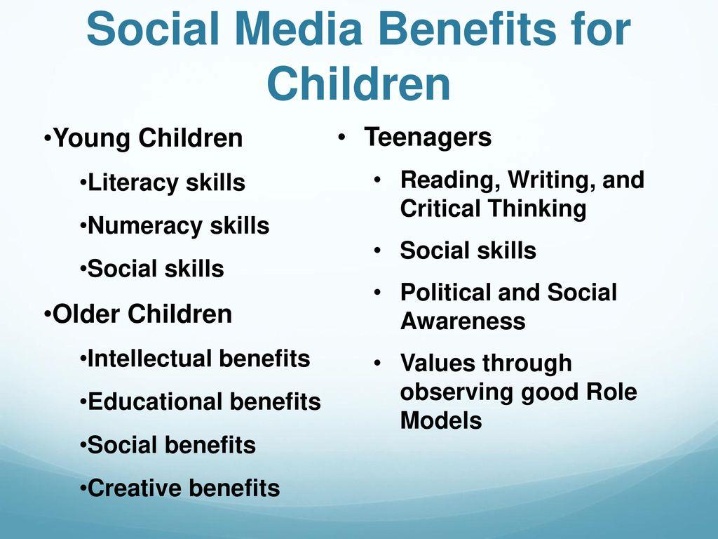social media and social skills