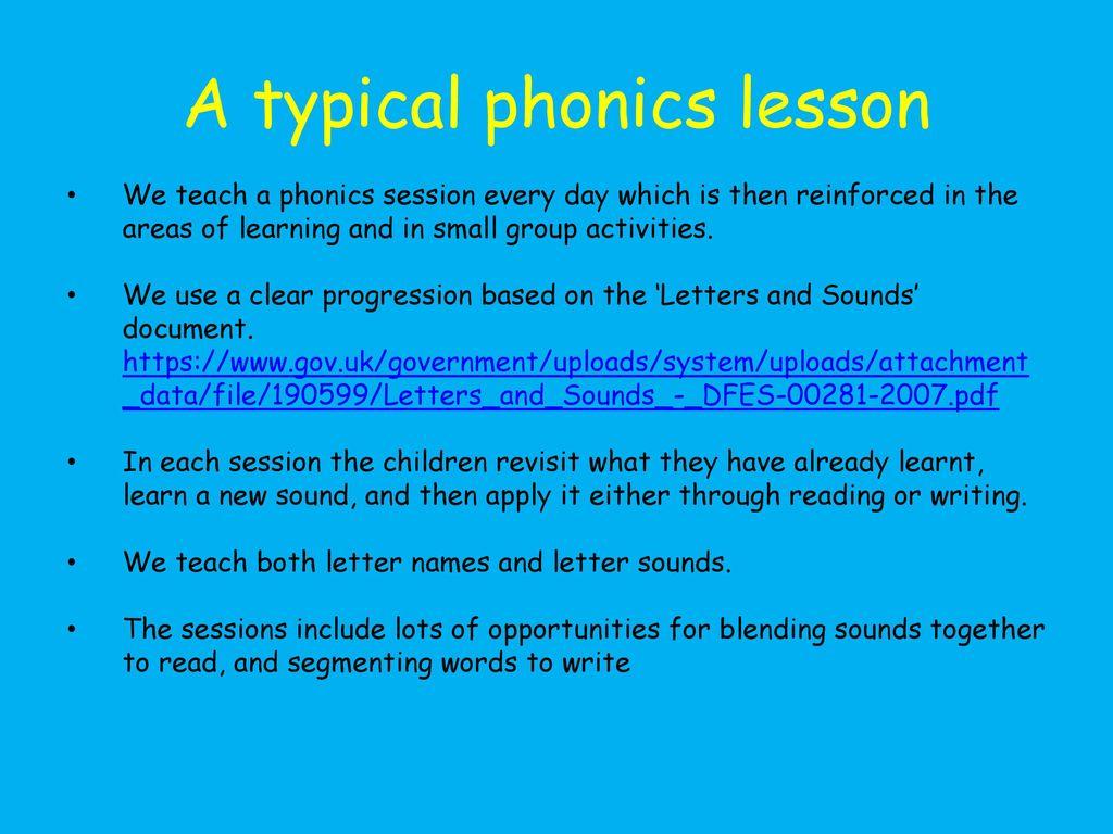 Phonics Information Session - ppt download