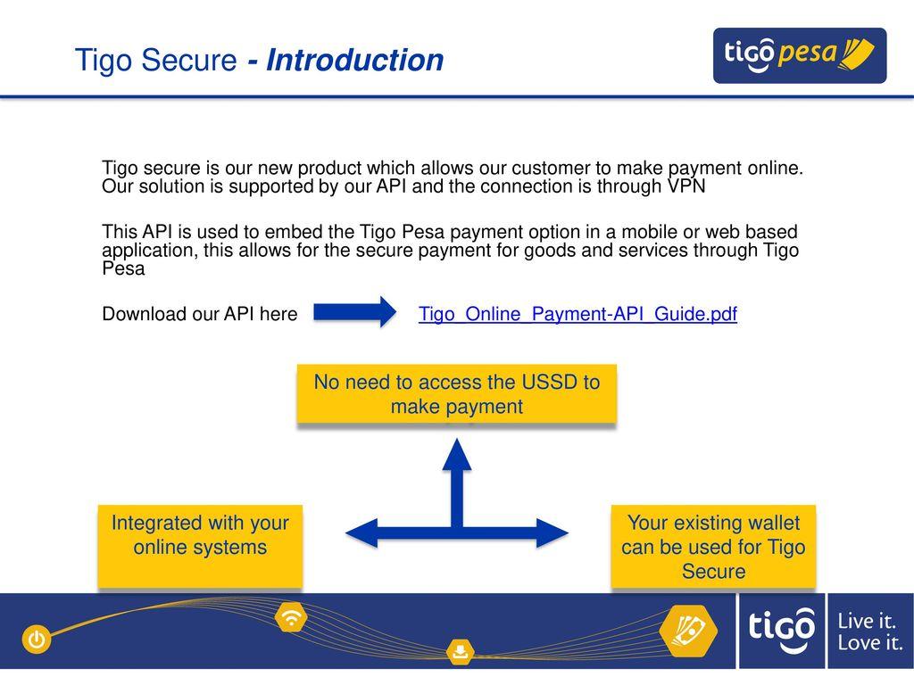 TIGO PESA CORPORATE SOLUTION - ppt download