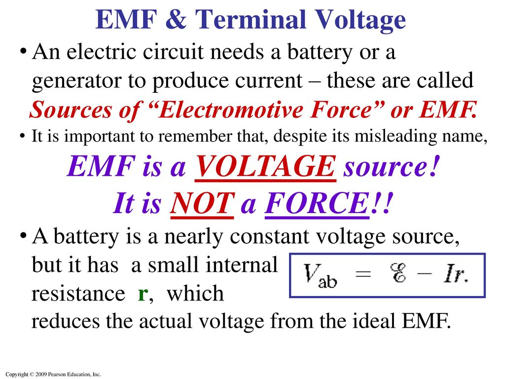 Dc Circuits Chapter 26 Opener These Mp3 Players Contain Circuit Diagram Voltage Source 2 Sources
