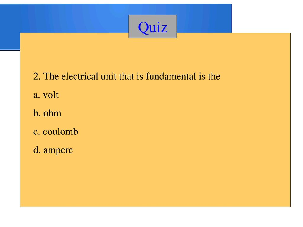 Chapter Ppt Download Electrical Relay Quiz 20 2