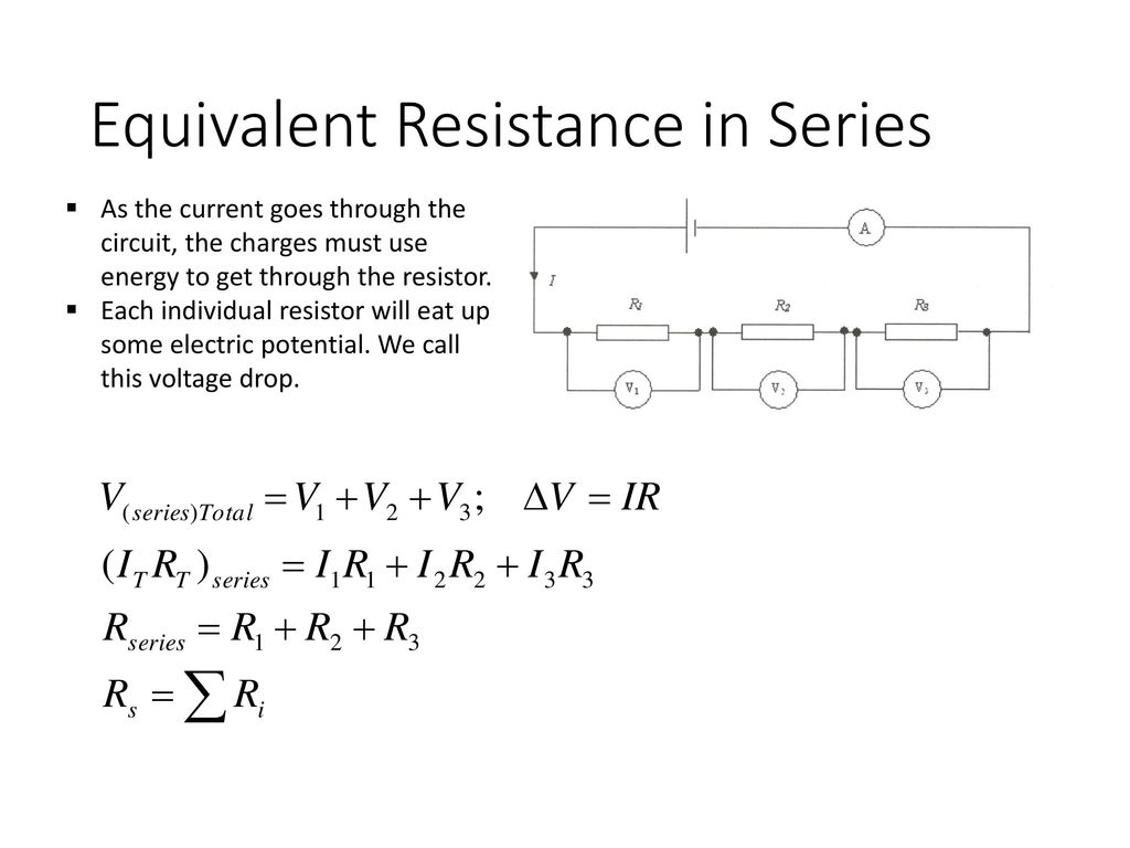 Circuits Ap Physics Ppt Download Square Circuit Equivalent Resistance Of Resistor In Series
