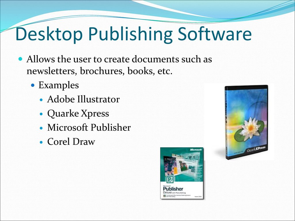different types of computer software programs ppt download rh slideplayer com