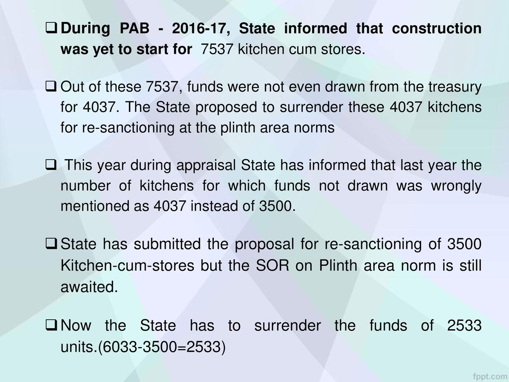 Mid Day Meal Scheme MDM-PAB Meeting : Jharkhand 10h March, ppt download